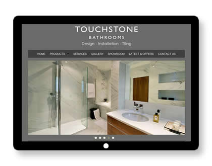 Website for Bathroom Showroom in London